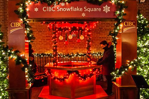 CIBC Snowflake Square